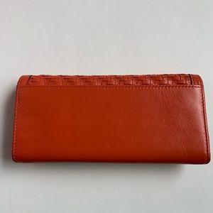Coach Bags - COACH Kristen Woven Wallet Clutch
